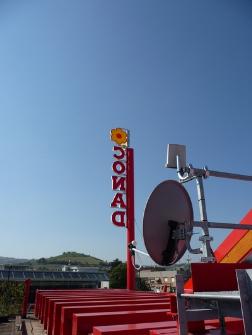 AIRNAW sul tetto del supermercato CONAD di Castello di Serravalle (BO)