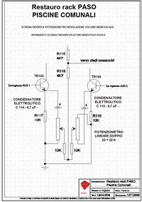 Schema modifica potenziometro AUX del P4120-E