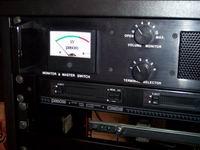 Pannello di alimentazione e monitoraggio - VU-meter riparato
