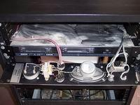 Pannello di alimentazione e monitoraggio P4000-E prima della pulizia