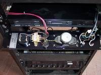 Retro del pannello di alimentazione e controllo P4000-E