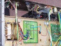 Amplificatore mixer P4120-E prima della fase di pulizia