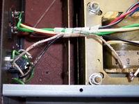 PASO P4120-E restaurato - Dettaglio guaina danneggiata