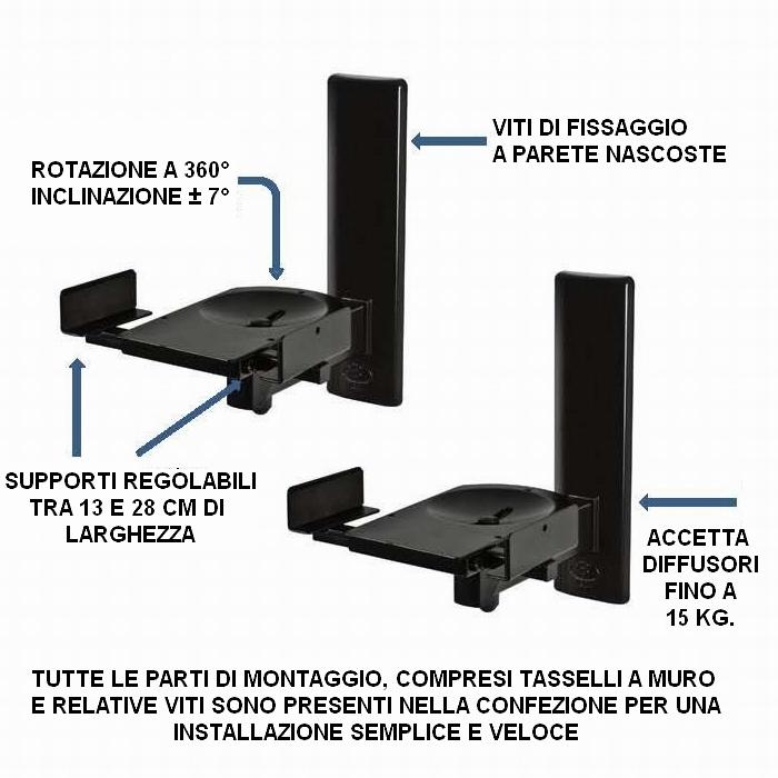 ONLUS - Supporti per diffusori ULTRAGRIP PRO BT77