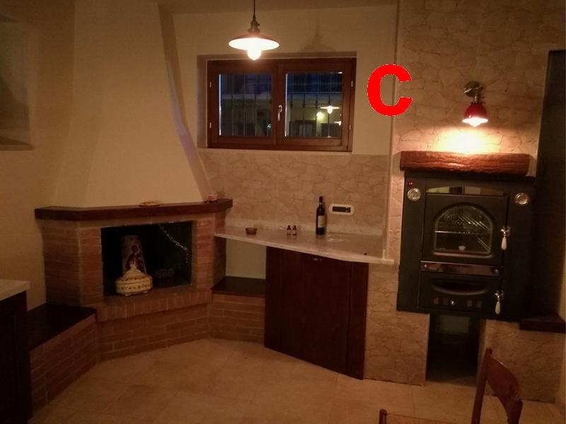 """Il tuo Home Theatre 2 - Tavernetta, parete """"c"""""""