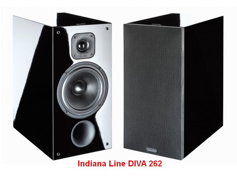 Il tuo Home Theatre 2 - Diffusori Indiana Line DIVA 262 nero laccato